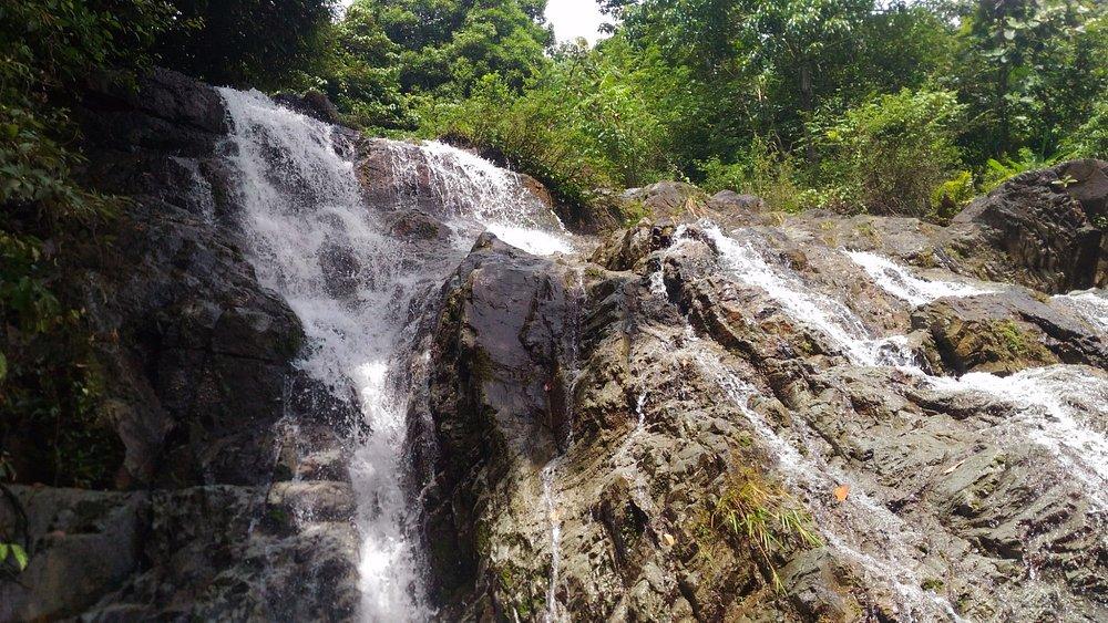 Cascade waterfall of Balawean (valley of Meratus mountain)