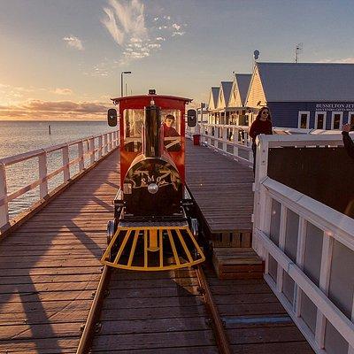 The Busselton Jetty Train