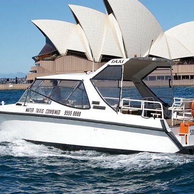 Water Limousine cruising past Sydney Opera House