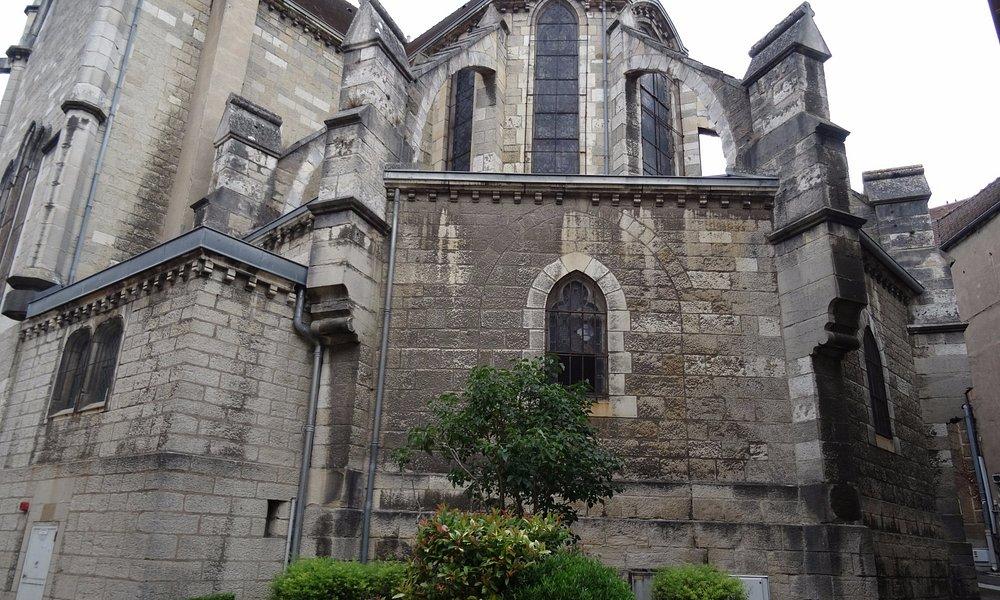 Chevet de l'église