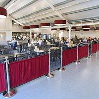 Groves Restaurant seating area
