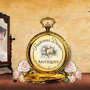 Pastimes Decor Antiques & Collectibles has a large collection of vintage furniture and glassware