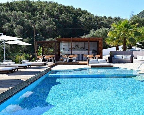 Serene Pool Bar