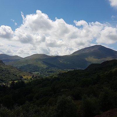 Beautiful walk with fantastic views