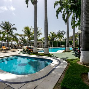 The Pool at the Hotel Ole Caribe
