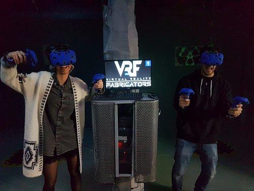 Y esto es lo que se siente cuando entran mas de un jugador en nuestros juegos en VR.