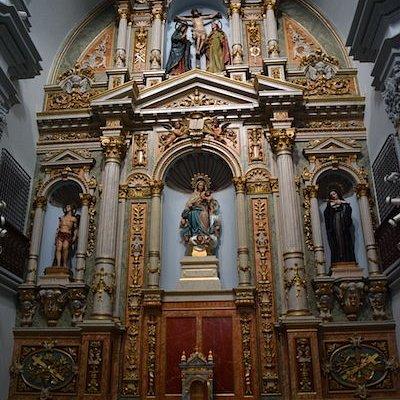 Iglésia y Monasterio de San Sebastian, Orihuela (Alicante, Comunitat Valenciana), Espagne.