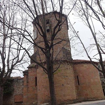 Oficina de Turismo, Sant Joan de les Abadesses (Ripollès, Gérone, Catalogne), Espagne.
