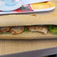 Sandwich poulet cury