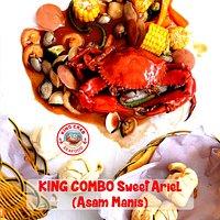 1 Crab + Mussel + Shrimp + Vegie + Sweet & Sour Sauce