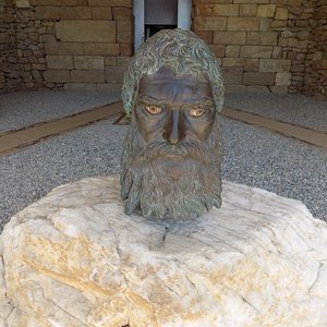 The head of Seuthes III.