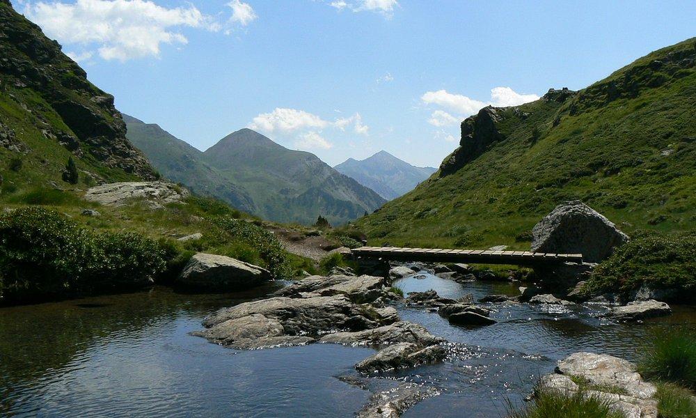 La apertura del primer lago al valle de Ordino... Magnífico!!