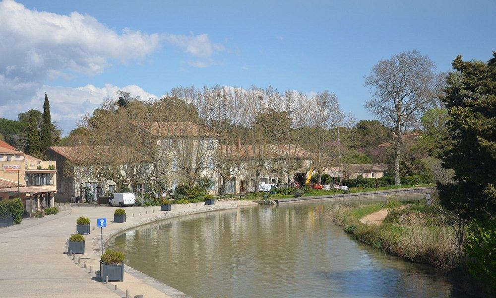 le petit port de la Redorte sur le canal du Midi