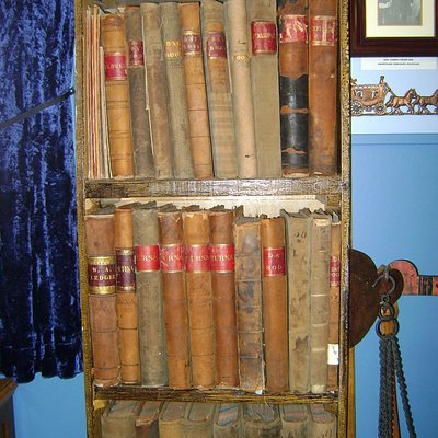 Les livres comptables appartenant a Joseph Cunard