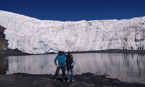 Vista do glaciar