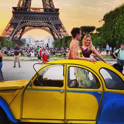 2CVParisTour Tours - A unique way to discover Paris!