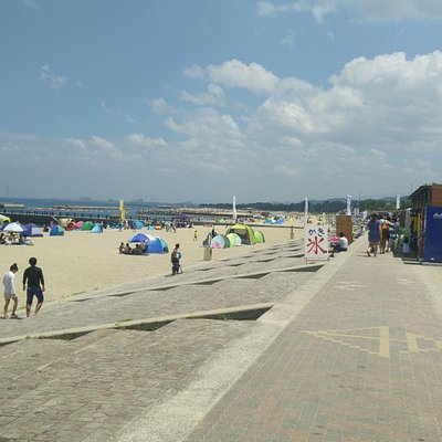 A very pleasant place to rest a day at seaside near #osaka