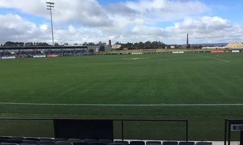 View from new grandstand
