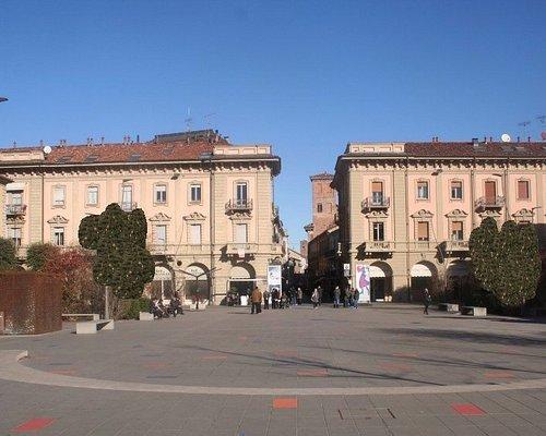 Visuale della piazza