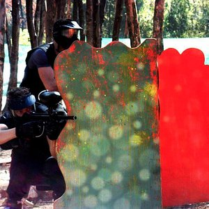 Paintball à la Foret de Bainem, Alger