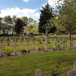 Military Cemetery Zuydcoote.