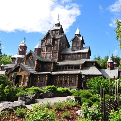 The Fairy Tale Castle - Norwegian Style...