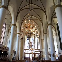 The Great or St Nicolas Church, Elburg, inside