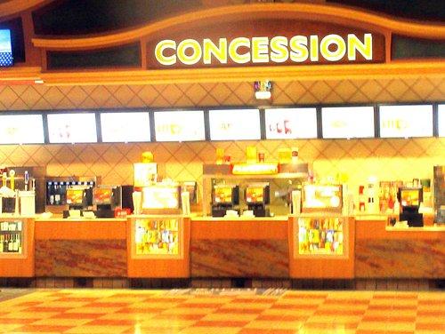 Snack Bar (Concession), Regal Green Valley Ranch Stadium 10, Las Vegas, CA