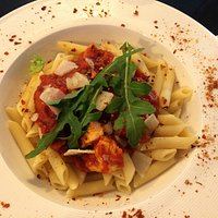 chicken & chorizo pasta