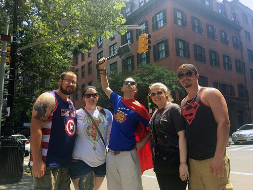 Super Tour of NYC: Heroes! Comics! More! - See where your favorite comic book heroes saved the d