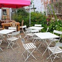 Our relaxing courtyard garden