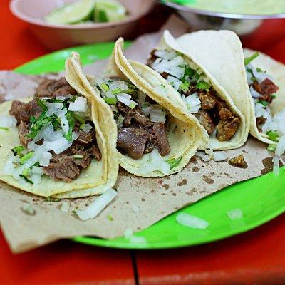 Delicious local tacos