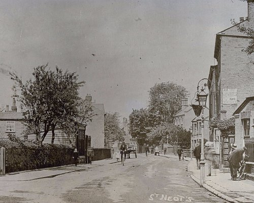 St Neots Museum on the left in 1910