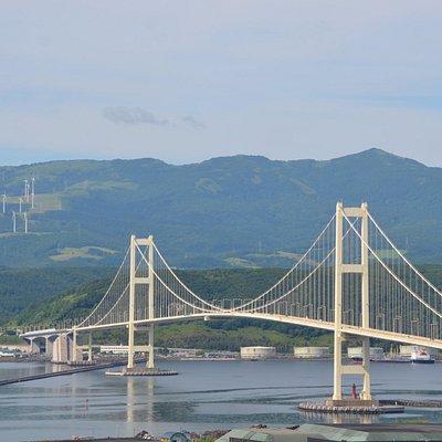 祝津公園からの眺望