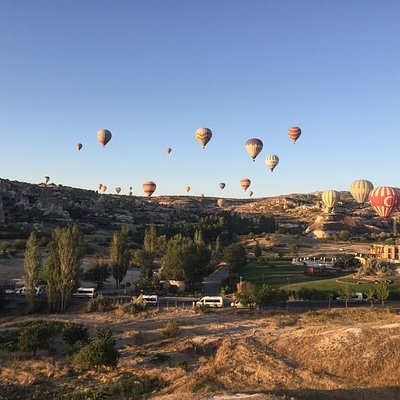 hot air balloon in Capadoccia. July 2017. arranged by Eyup Karapinar of True Blue Tours Istanbul