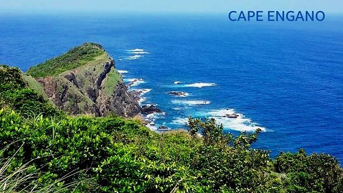 Breathtaking view from the top of Cape Engano