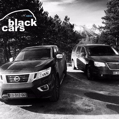 Alpine Black Cars véhicules