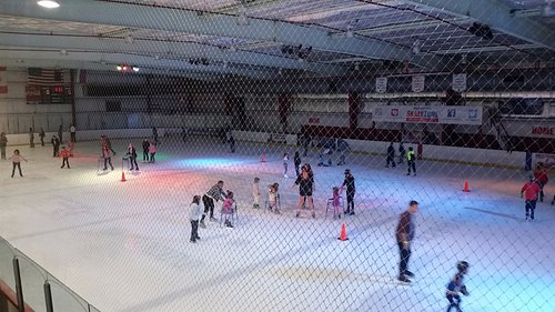 Phot of Rink taken from Balcony