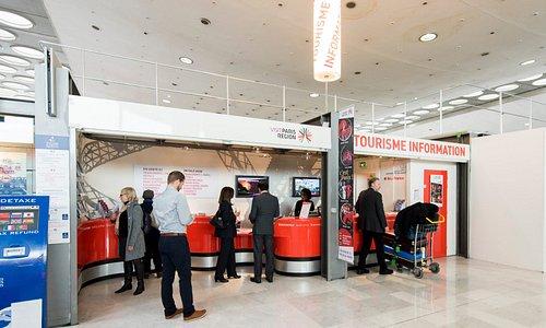 Point Information Tourisme - CDG - Terminal 2C, Porte 5