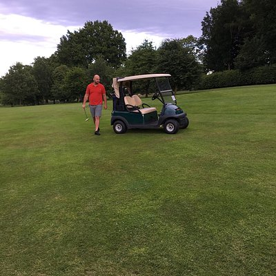 Sunday evening of golfing