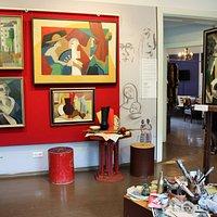 atelier du Romans Suta & A. Belcova museum