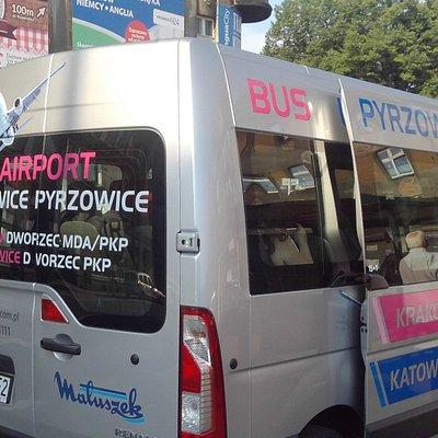 Το Βανάκι που μας μετέφερε από το αεροδρόμιο στην πόλη του Κατοβίτσε.