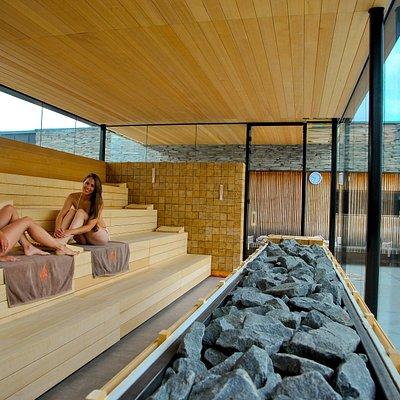 Sané Panorama Event Sauna