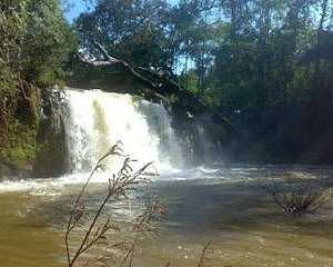 Nice waterfall doing trek by walk