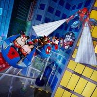 Spiderman Dok Ock's Revenge Rollercoaster