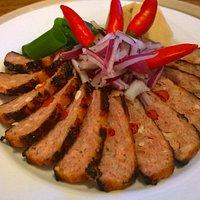 Thai chicken loaf