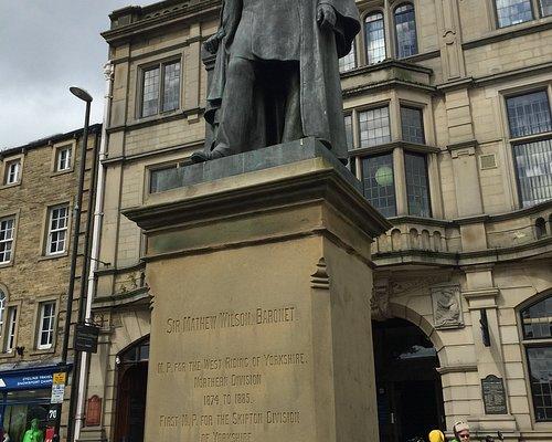 Statue of Sir Mathew Wilson Skipton