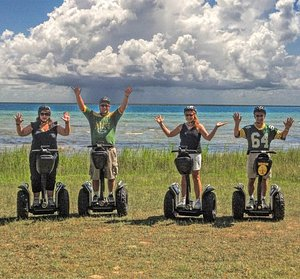 Ride an off-road Segway to beautiful Sand Bay Beach located along the shores of Lake Michigan.
