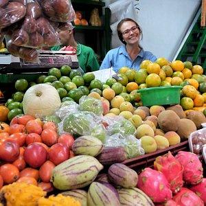 Fruit market and fun!