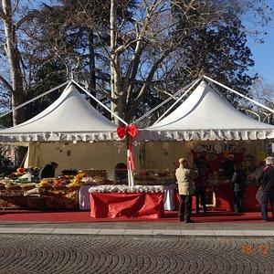 Постоянная ярмарка местных деликатесов и сувениров